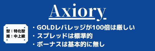 Axioryゴールド