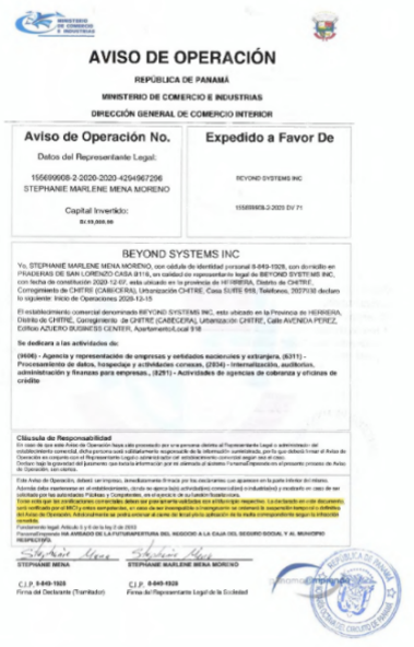 FXBeyondの金融ライセンス